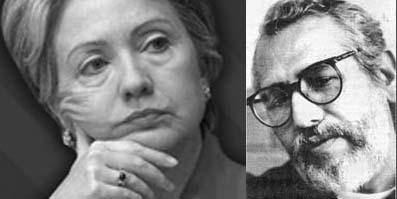 Hillary & Filiberto Ojeda Rios
