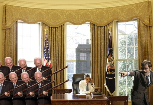 An Army of Dick Cheney Clones Attack The Oval Office